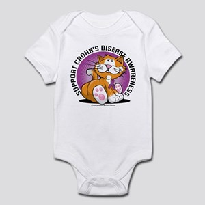 Crohn's Disease Cat Infant Bodysuit