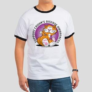 Crohn's Disease Cat Ringer T