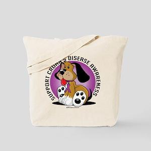 Crohn's Disease Dog Tote Bag
