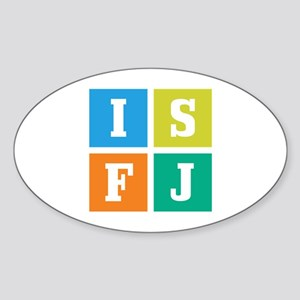 Myers-Briggs ISFJ Sticker (Oval)