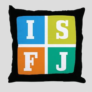 Myers-Briggs ISFJ Throw Pillow