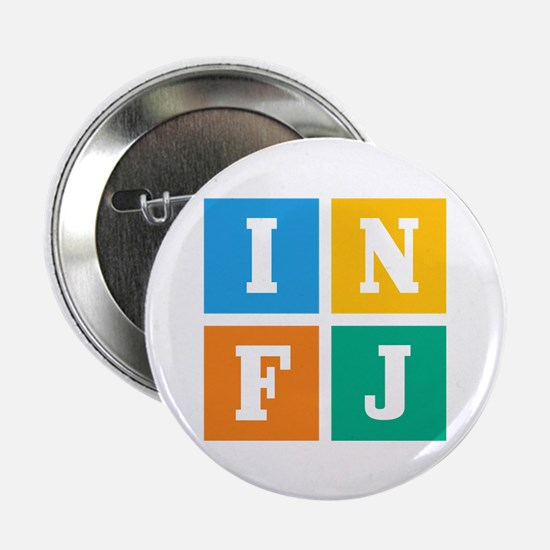 """Myers-Briggs INFJ 2.25"""" Button (10 pack)"""