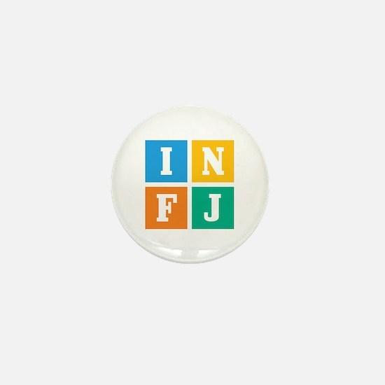 Myers-Briggs INFJ Mini Button