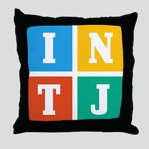Myers-Briggs INTJ Throw Pillow