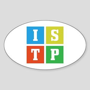 Myers-Briggs ISTP Sticker (Oval)