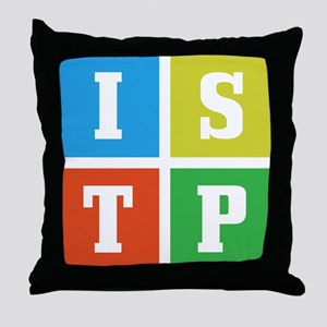 Myers-Briggs ISTP Throw Pillow