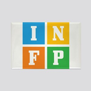 Myers-Briggs INFP Rectangle Magnet
