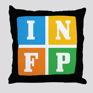 Myers-Briggs INFP Throw Pillow