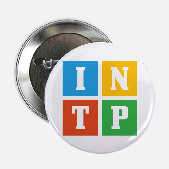 """Myers-Briggs INTP 2.25"""" Button (10 pack)"""