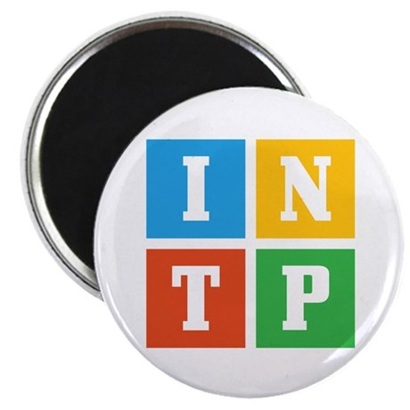 "Myers-Briggs INTP 2.25"" Magnet (10 pack)"