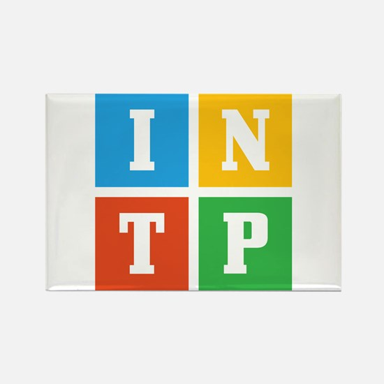 Myers-Briggs INTP Rectangle Magnet (100 pack)