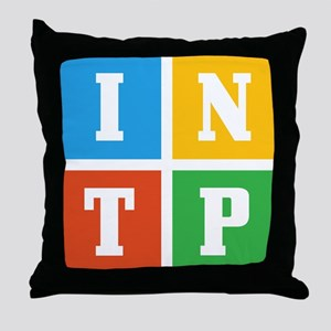 Myers-Briggs INTP Throw Pillow