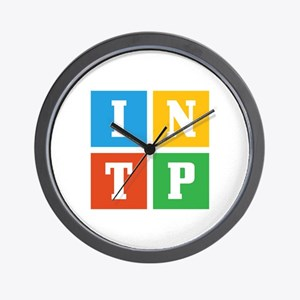 Myers-Briggs INTP Wall Clock