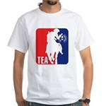 Tea Party Paul Revere Logo White T-Shirt