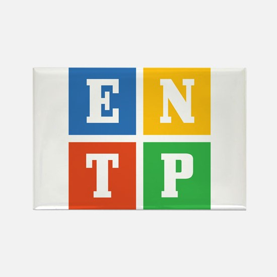 Myers-Briggs ENTP Rectangle Magnet