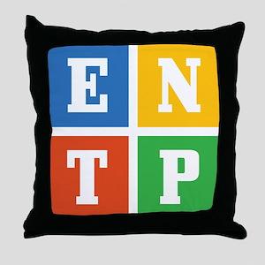 Myers-Briggs ENTP Throw Pillow