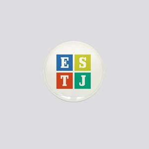 Myers-Briggs ESTJ Mini Button