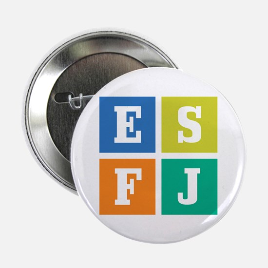 """Myers-Briggs ESFJ 2.25"""" Button (10 pack)"""