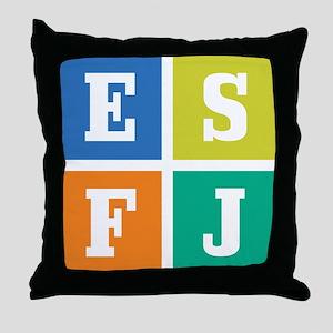 Myers-Briggs ESFJ Throw Pillow