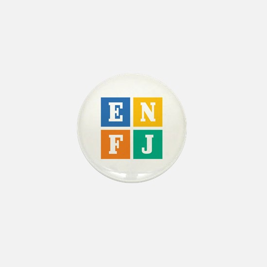 Myers-Briggs ENFJ Mini Button
