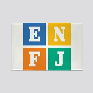 Myers-Briggs ENFJ Rectangle Magnet
