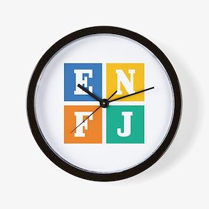 Myers-Briggs ENFJ Wall Clock