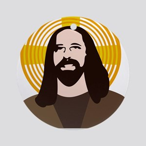 Jesus Had Two Dads Ornament (Round)