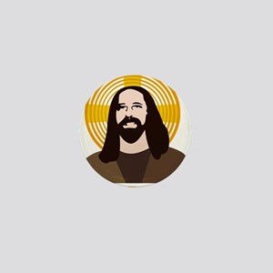 Jesus Had Two Dads Mini Button