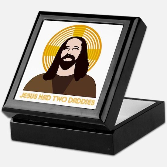 Jesus Had Two Dads Keepsake Box