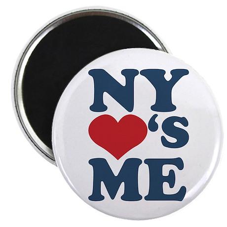 """NY Loves Me 2.25"""" Magnet (100 pack)"""