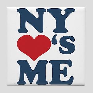 NY Loves Me Tile Coaster