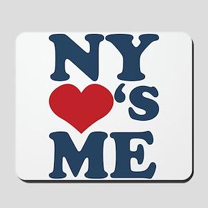 NY Loves Me Mousepad