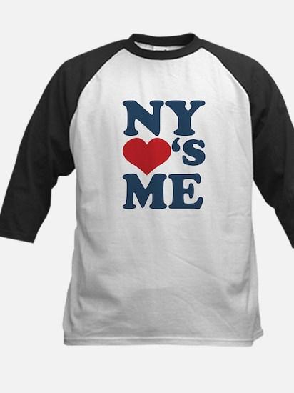 NY Loves Me Kids Baseball Jersey