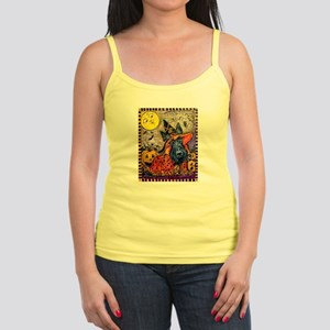 Scottie Halloween Witch Jr. Spaghetti Tank