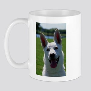 White German Shepherd Photo Mug
