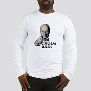 Churchill: Socialism Sucks, n Long Sleeve T-Shirt