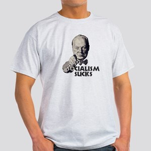 Churchill: Socialism Sucks, n Light T-Shirt
