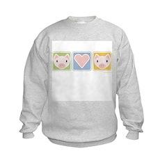 Piglet Love Sweatshirt (Kids)