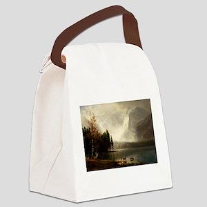 Albert Bierstadt Estes Park Color Canvas Lunch Bag