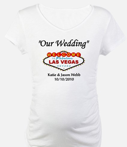 Our Wedding Personalized Shirt