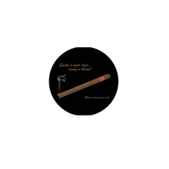 Cigars - Annoy A Liberal Mini Button (100 pack)