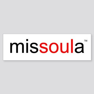 soulinmissoula Bumper Sticker