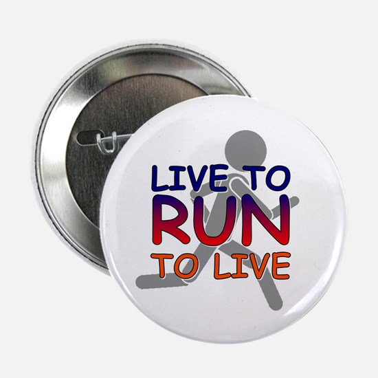 "Live to Run 2.25"" Button (100 pack)"
