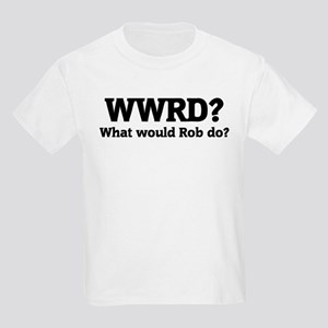What would Rob do? Kids T-Shirt