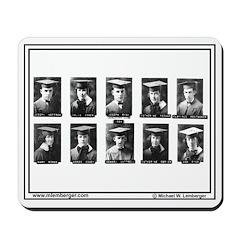 1924, Mousepad of Senior Photos Mousepad