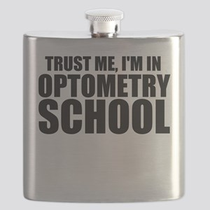 Trust Me, I'm In Optometry School Flask