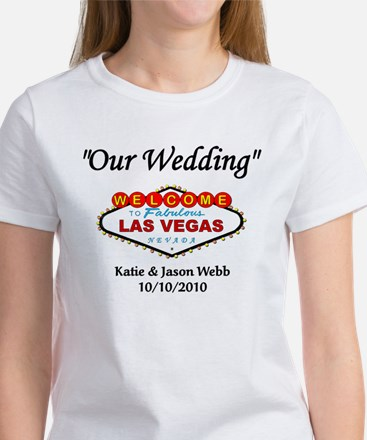 Our Wedding Personalized Women's T-Shirt