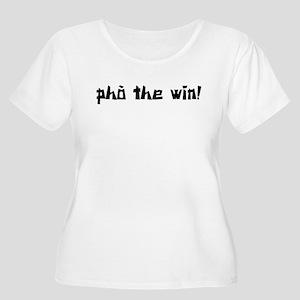 Pho The Win! Women's Plus Size Scoop Neck T-Shirt