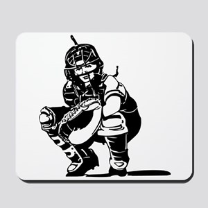 CATCHER *1* {black} Mousepad