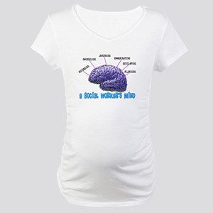 Social Worker III Maternity T-Shirt